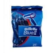 Gillette Blue II 20 ks holiaci strojček pre mužov
