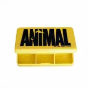 universal animal yellow logo pill box non