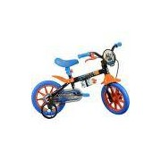 Bicicleta Caloi Hot Wheels Aro 12 - Preto