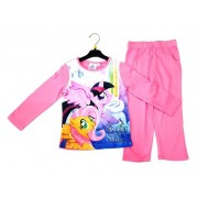 Pijama roz Unicorni My Little Pony 3-8ani