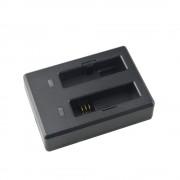 Incarcator Dual original SJCAM pentru acumulatori M20 (Negru)