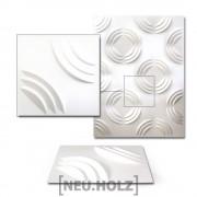 [neu.haus]® 3D Панел за стенна декорация, 30 x 30 cm, Рози, 6m²
