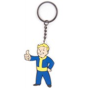 Bioworld Fallout - Vault Boy Approves Rubber Keychain