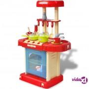 vidaXL Dječja kuhinja sa svjetlosnim i zvučnim efektima