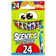 Set 24 creioane cerate parfumate Scentos