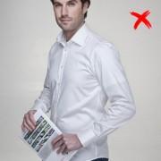 Covert Underwear Neviditeľné pánske tričko s potítkami Veľkosť: S Slim