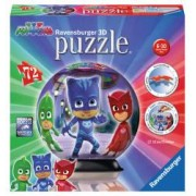 Puzzle 3D Eroi In Pijamale Motiv 1. Nu necesita lipici.