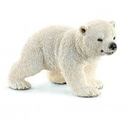 Schleich Walking Polar Bear Cub Toy Figure