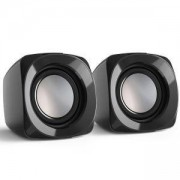 Тонколонки за лаптоп Sonic Mobil 181, черно и сиво, 3.5 mm Stereo, USB, HAMA-173130