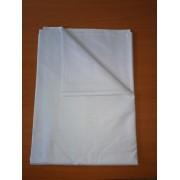Hagyományos pamutvászon lepedő 100% pamutból 140x220 cm - halvány kék
