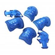 Set Protección Niños 6 Pcs Patines Roller Skate - Azul