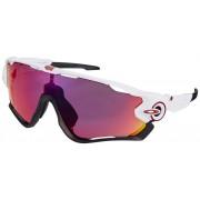 Oakley Jawbreaker Cykelglasögon vit 2019 Solglasögon