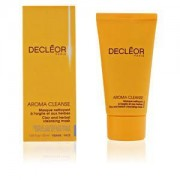 Decleor aroma cleanse clay & herbal mask masque a' l'argile et aux herbes 50ml