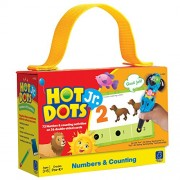 Hot Dots Learning Resources Jr. Cards: Numbers & Counting Card Set (Green And Red)