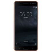 "Telefon Mobil Nokia 6, Procesor Octa-Core 1.4 GHz, IPS LCD Capacitive Touchscreen 5.5"", 4GB RAM, 32GB Flash, 16MP, Wi-Fi, 4G, Dual Sim, Android (Maro) + Cartela SIM Orange PrePay, 6 euro credit, 4 GB internet 4G, 2,000 minute nationale si internationale f"