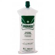 PRORASO Green Shaving Cream крем за бръснене 500 ml за мъже