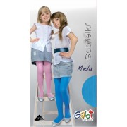 Gabriella - Opaque ribbed childrens tights Mela