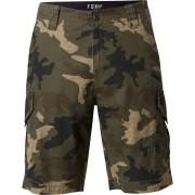 FOX Slambozo Cargo Camo Shorts 30 Grön