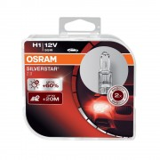Osram Silverstar 2.0 H1 autó fényszóró izzó (64150SV2-DUO) duó csomag