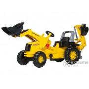 Tractor cu pedale și cupă Rolly Junior New Holland cu excavator