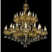 Cast crystal chandelier 9003 48/08-505S