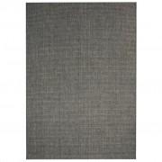 vidaXL sötétszürke, szizál hatású beltéri/kültéri szőnyeg 160 x 230 cm