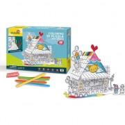 Puzzle 3D Toy House