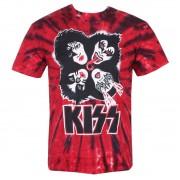 Herren T-Shirt Metal Kiss - BURST - LIQUID BLUE - 11929