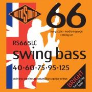 Rotosound Cuerdas para bajo RS665LC 5er 40-125 Swing Bass 66, Stainless Steel