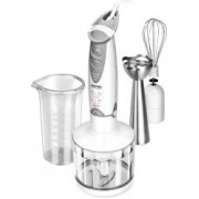 Blender de mana 3in1 MPM, MBL-03, Putere 400W, Pasator, Tel, Functie Turbo, Capacitate 400ml