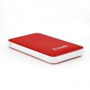 """Tooq TQE-2528R Caixa Externa USB 3.1 para Disco Rígido 2.5"""" SATAIII Vermelha"""