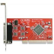 Tarjeta PCI c/4 puertos DB9 serial Manhattan 175586