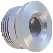 LED Moka 35mm cool wit 12V LED module geborsteld aluminium 876116