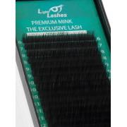 "Eyelash extension Premium Mink ""Exclusive"" 18 STRISCE C-curl"