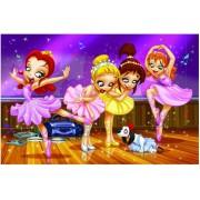 Puzzle Eurographics - Go Girls Go! Ballett, 100 piese (42953)