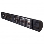 AVH-Collectie Elektrische infrarood terrasverwarmer Iras zwart - 3000 W