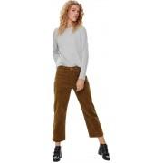 Only Pantalone Donna OnlBitten, Taglia: 40, Per adulto Donna, Marrone, 15182093 RUBBERY, IN SALDO!