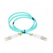 NFO Patch cord, LC UPC-LC UPC, Multimode 50 125, OM3, 3mm, Duplex, 2m NFO-PCDOM3-12010