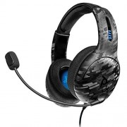 PDP Gaming LVL50 Wired Stereo Headset: Black Camo 051-099-NA-CAM Playstation 4
