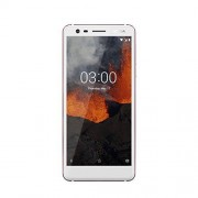 Nokia 3.1 – versie 2018 (13mp Groothoek camera, LTE, Android 8.0, hoogwaardig Aluminium behuizing, Dual SIM) Wit/ijzer