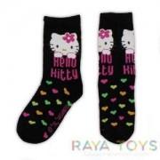Детски чорапи Hello Kitty черни Disney