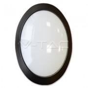 PLAFONIERA LED OVALE 12W LUCE NATURALE IMPERMEABILE VT-8010-LED4973