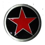 Hebilla estrella roja