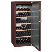 Vitrina pentru vinuri Liebherr WKt 4551, 413 L, 201 sticle, Rafturi lemn, Control taste, Display, H 165 cm, Clasa A++, Culoare Terra
