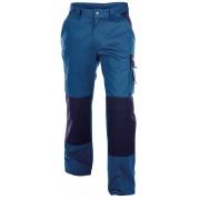 Dassy BOSTON Tweekleurige Werkbroek met kniestukken [200426] - Korenblauw/Marineblauw - Size: NL:62 BE:56