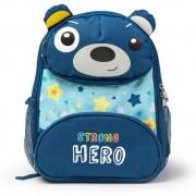 Ghiozdan albastru cu ursuleţ, Strong Hero