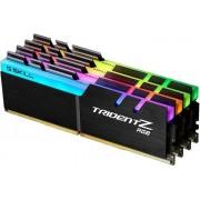 Memorija DIMM DDR4 4x16GB 3600MHz G.Skill Trident Z RGB CL17, F4-3600C17Q-64GTZR