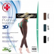 Colanti Egari Gabriella Leggings Medica Push-up 3D Aloe Vera 100 DEN 172
