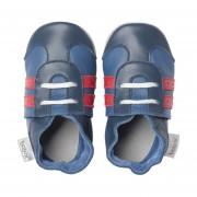 Bobux Sport Shoe Soft Soles Navy / Red Mt M