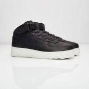 Nike Air Force 1 Mid Black/Black-Sail